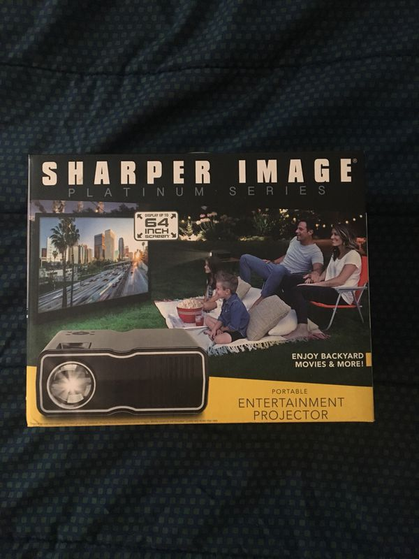 """Portable Projector - Displays up to 64"""" (Like New!)"""