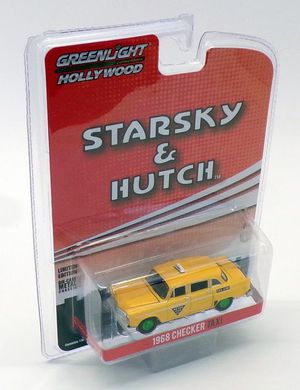 GREENLIGHT 44855-C STARSKY & HUTCH 1968 CHECKER TAXI CHASE GREEN WHEELS for Sale in Fresno, CA