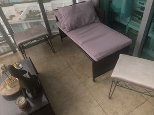 Outdoor furniture set for Sale in Miami, FL