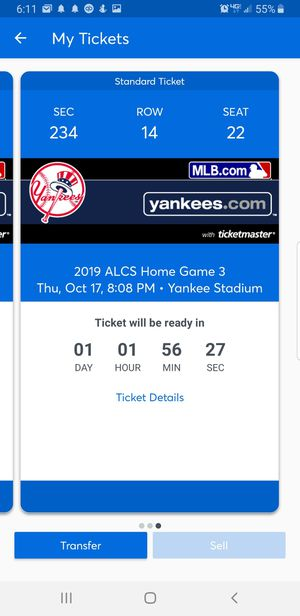 Yankees vs Houston for Sale in Queens, NY