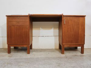 Mid Century Danish Modern - Teak Desk / Vanity for Sale in Lake Oswego, OR