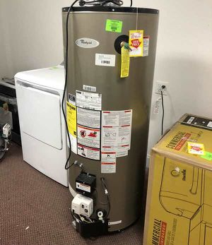 50 Gallon Gas Water Heater 🙈✔️⏰⏰⚡️🍂🔥😀🙈✔️⏰⚡️🍂🔥😀🙈✔️⏰⚡️🍂 Appliance Liquidation!!!!!!!!!!!!!!!!!!! N0 for Sale in El Paso, TX
