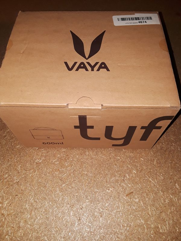 Vaya Tyffyn 600 Insulated Lunch Box - 2 Stainless Steel Leak-Resistant Food Storage Container