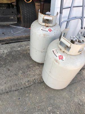 RV propane tanks for Sale in Baytown, TX