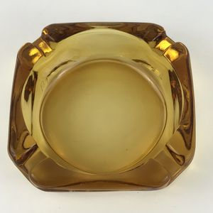 Ashtray glass amber 1970s 1960s never used New for Sale in Huntington Beach, CA