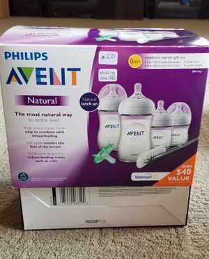 New Avent natural gift set MISSING PACIFIER for Sale in Riverside, CA