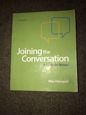 Joining the Conversation (Third Edition) for Sale in Buckeye, AZ