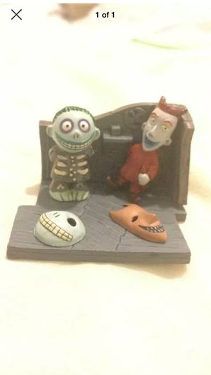 Nightmare before Christmas mini figures collectible for Sale in Hialeah, FL