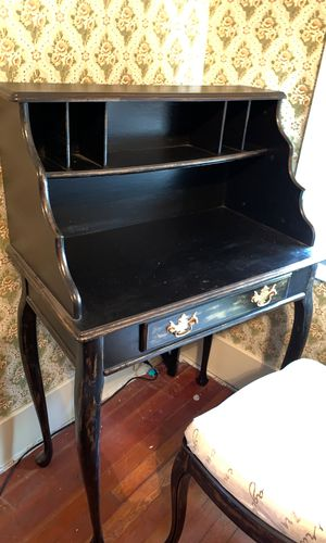 Antique desk and chair for Sale in Tracy, CA