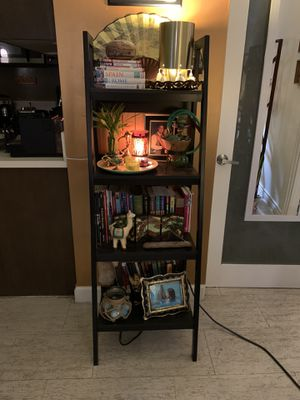 Black Ladder Shelf for Sale in Los Angeles, CA