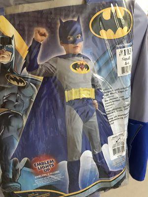 Batman costume -small 4-6 for Sale in Mission Viejo, CA