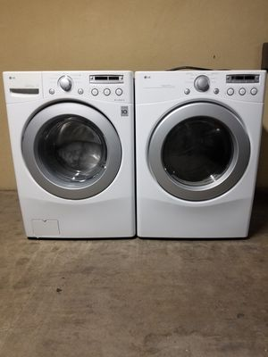 LG washer and electric dryer in good condition for Sale in Phoenix, AZ