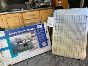 Camper's kitchen - great for rv's backyard and family camping for Sale in San Jose, CA