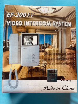 New Video Intercom System/ Viewing System for Sale in Richmond, VA