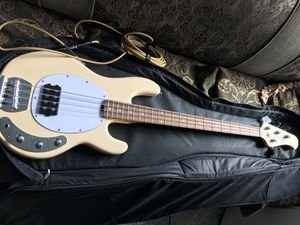 Sterling SUB stingray bass guitar vintage cream for Sale in Long Beach, CA