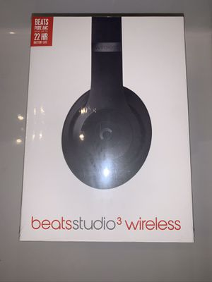 Beats by Dre Studio 3 Wireless Brand New for Sale in Houston, TX