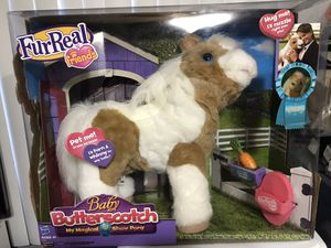 New FurReal Friends Baby Butterscotch Talking Toy Horse Show Pony Fur Real Magic for Sale in Redondo Beach, CA