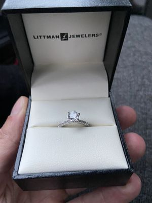925 Sterling Silver Women's Engagement Style Ring for Sale in Bridgeport, CT