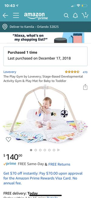 Lovevery Play Gym and tent for Sale in Alafaya, FL