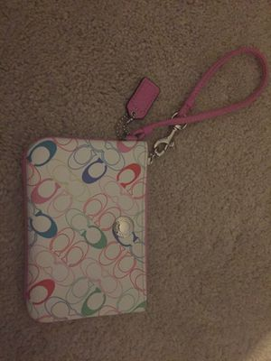 Coach wristlet change purse for Sale in Columbus, OH