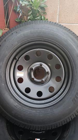 New Black trailer tires for Sale in Hemet, CA