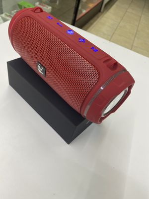 Bluetooth speaker red portable for Sale in Houston, TX