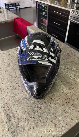 HJC Dirt bike helmet XL for Sale in Denver, CO
