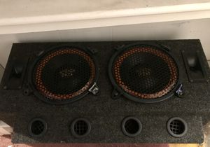 """Car Audio Dual Super Pro 10"""" Speaker Subwoofer Stereo Sub Box for Sale in Chelmsford, MA"""