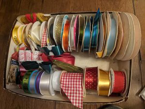 Free box of ribbons for Sale in Lynwood, CA
