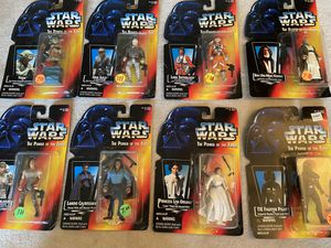 Star Wars action figures (set of 9) for Sale in Lakewood, WA