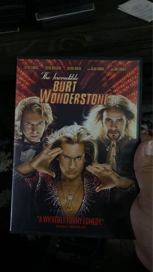 The incredible Burt Wonderstone DVD for Sale in Long Beach, CA