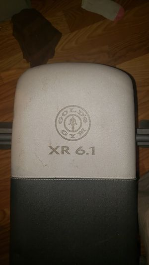 Gold's Gym Weight Bench for Sale in Houston, TX