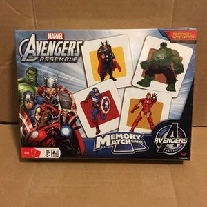 Marvel Avengers Memory Game for Sale in Matthews, NC