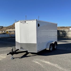 New 7x12 Look Cargo Trailer * rear ramp * for Sale in Redlands, CA