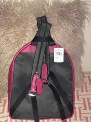 Women's Charlie Signature Leather Backpack #Pink $150 ***** Authentic**** for Sale in Roswell, GA