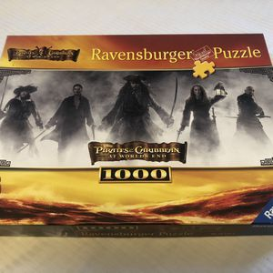 Ravensburger Pirates Of The Caribbean 1000 Piece Puzzle for Sale in Minneapolis, MN