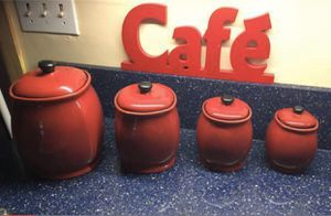 Canisters set of 4 for Sale in Columbia, MD