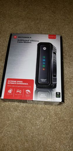 Motorola SB6121 SURFboard eXtreme Cable Modem for Sale in Hampshire,  IL