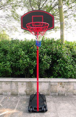 "Brand New $50 Junior Kids Sports Basketball Hoop 27""x18"" Backboard, 5ft-7ft Adjustable Stand w/ Wheel for Sale in Downey, CA"