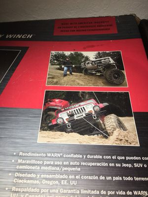 Warn 8000 winch for Sale in Haines City, FL