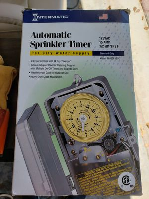 NEW IN BOX Intermatic T8805P101C 125-Volt Mechanical Cycle and Irrigation Timer for Sale in Pompano Beach, FL