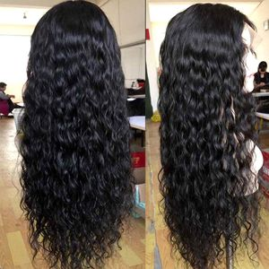 Water Wave Wig 360 Lace Front Human Hair Wigs Pre Plucked 180 Density for Sale in Tucker, GA
