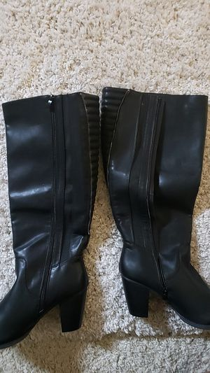 Black Moto Boots for Sale in Elk Grove, CA