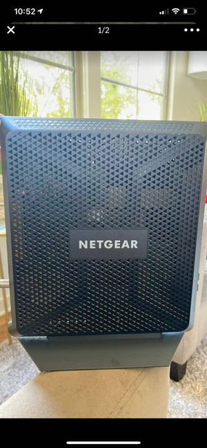 Netgear AC1900 wifi cable modem router for Sale in Costa Mesa, CA