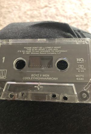 Boyz to men cassette for Sale in Rancho Murieta, CA