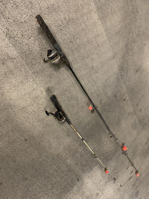 2 fishing poles for Sale in Charlotte, NC