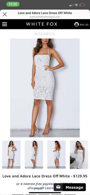 White dress from online boutique for Sale in Murfreesboro, TN