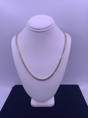 """Gold Box Link Chain 5.8g 14kt 16"""" for Sale in Phoenix, AZ"""
