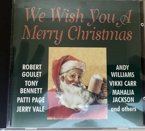 CD WE WISH YOU A MERRY CHRISTMAS for Sale in New Britain, CT
