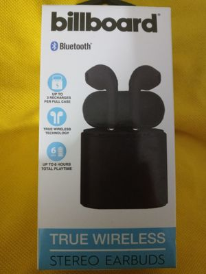 Billboard Truly Wireless Earbuds new in package for Sale in Columbus, OH